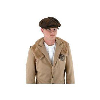 Steampunk Brown Driver Hat