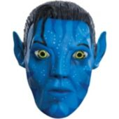 Avatar Movie Jake Sully 34 Vinyl Adult Mask