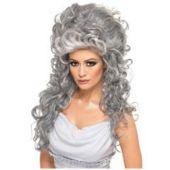 Silver Goddess Wig