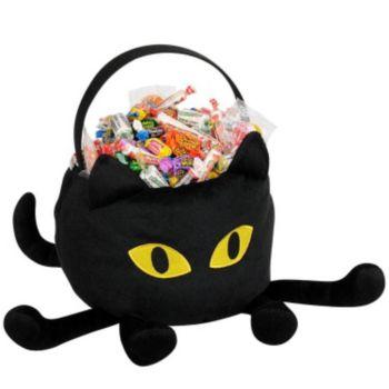 Cat Plush Basket