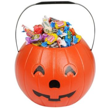 "Pumpkin 8"" Treat Bucket"