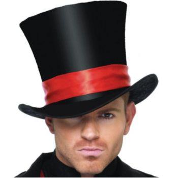 Deluxe Velvet Top Hat Adult