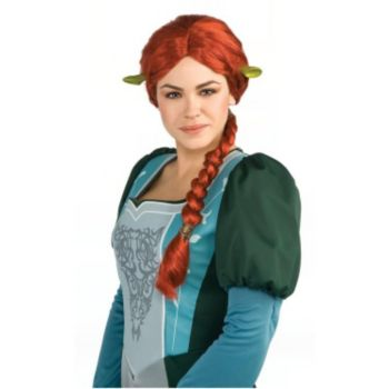 Shrek Fiona Wig & Ears Set