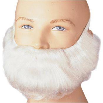 Short White Beard & Moustache Set