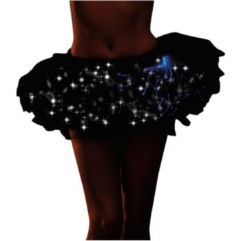 Light Up Black  Adult Size Tutu