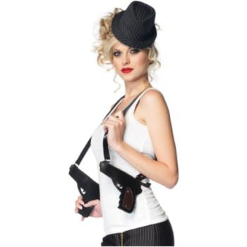Gangster Attached Double Holster