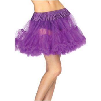 Purple Layered Tulle Petticoat (Adult)