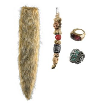 Pirates Of The Caribbean  Jack Sparrow Accessory Kit