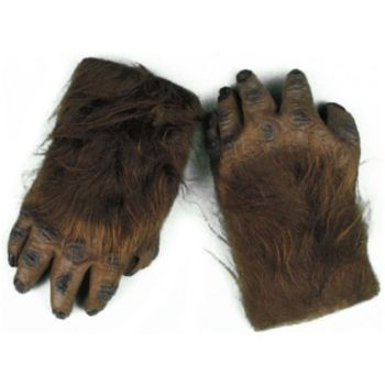 Werewolf Brown Hairy Hands