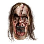 the Walking Dead - Zombie With Split Head Deluxe Mask