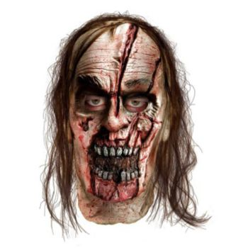 The Walking Dead - Zombie With Split Head Deluxe Mask