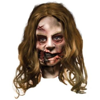 The Walking Dead - Little Girl Zombie Deluxe Mask