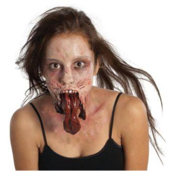 The Walking Dead - Split Jaw Latex Prosthetics (Adult)
