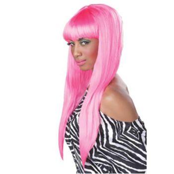Bubble Gum Pink Wig