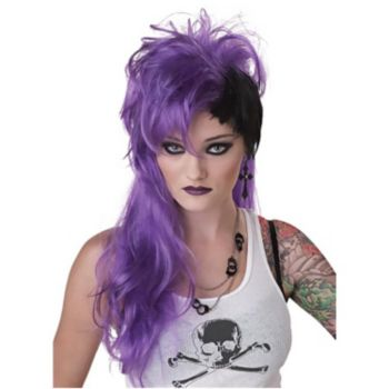 Purple Punk Wig
