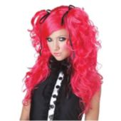 Doll House Hot Pink Adult Wig