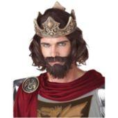 Medieval King Adult Wig