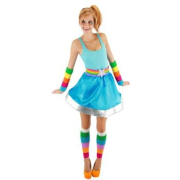 Rainbow Brite Adult Arm And Leg Warmers