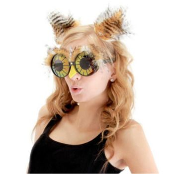 Owl Ears & Eye-Glasses Kit