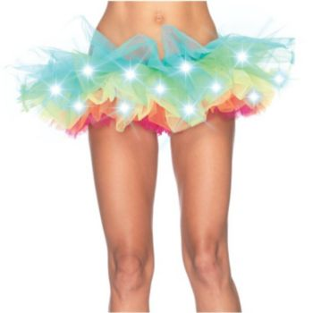 Light Up Rainbow Tutu Adult