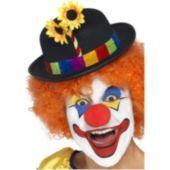 Clown Bowler Adult Hat