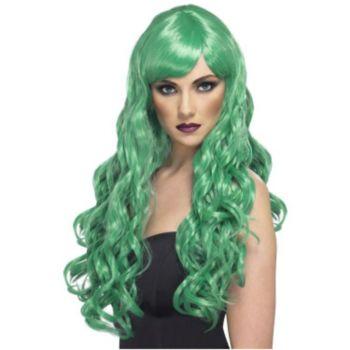Green Envy Wig