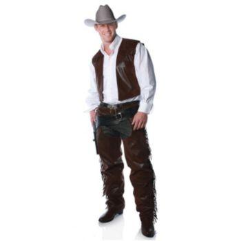 Cowboy Chaps And Vest Accessory Kit