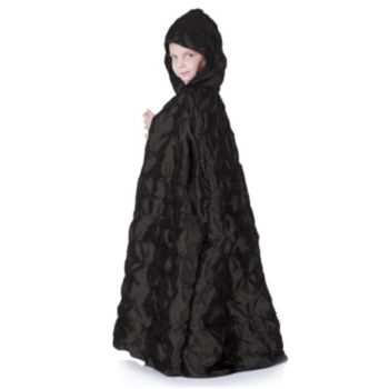 Black Pintuck Child Cape