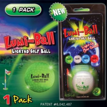 LUMI BALL (LIGHTED GOLF BALL GREEN)