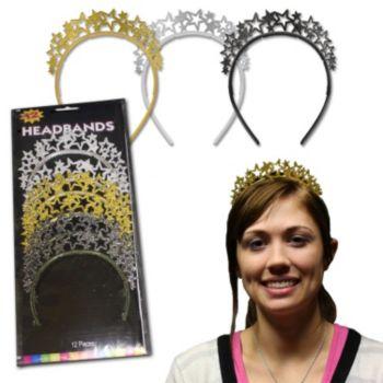 Glitter Star Headbands