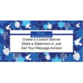Happy Hanukkah Custom Banner