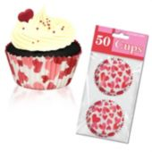 Heart Cupcake Cups - Unit of 50