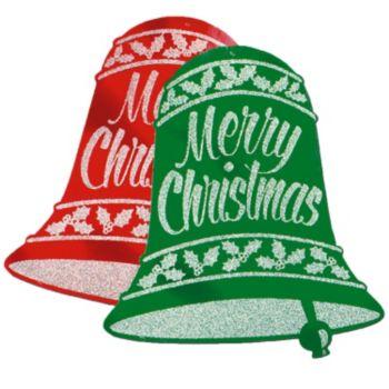 Christmas Bell  Glitter Cutouts