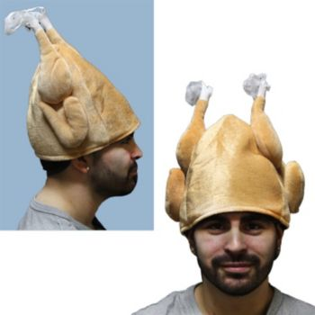 Plush Turkey Hat