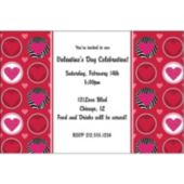 Wild Hearts Personalized Invitations