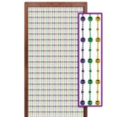 Mardi Gras Disco  Bead Door Curtain