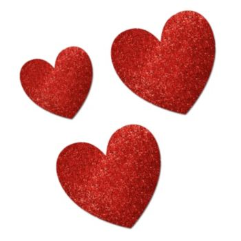Glitter Hearts Mega Value Pack