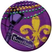 MARDI GRAS MAGIC 8 3/4'' PLATES
