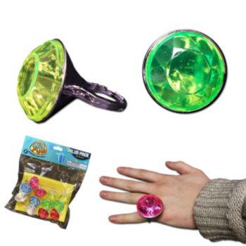 Jumbo Diamond  Child Size Rings
