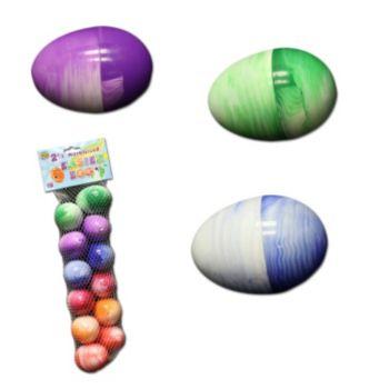 Marble Plastic  Easter Eggs