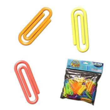 Jumbo Plastic  Paper Clips