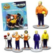 Construction Worker Figures - 12 Pack