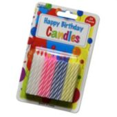 Birthday Candles -12 Pack