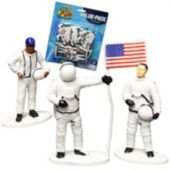 Astronaut Toy Figures - 12 Pack