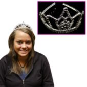 Kid's Silver Tiaras-12 Pack