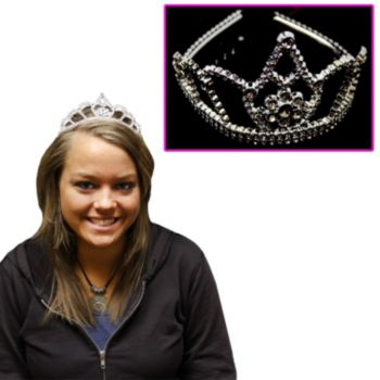 Silver Child Size Tiaras
