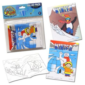 Winter Season Coloring Books