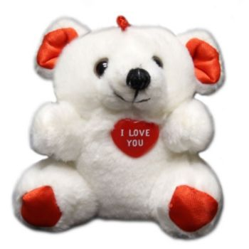 "I Love You 4""  Plush Bears"