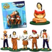 Western Toy Figures-12 Pack