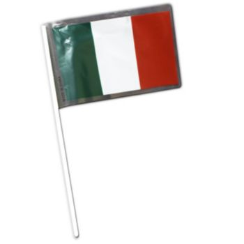 Italian Plastic Flags